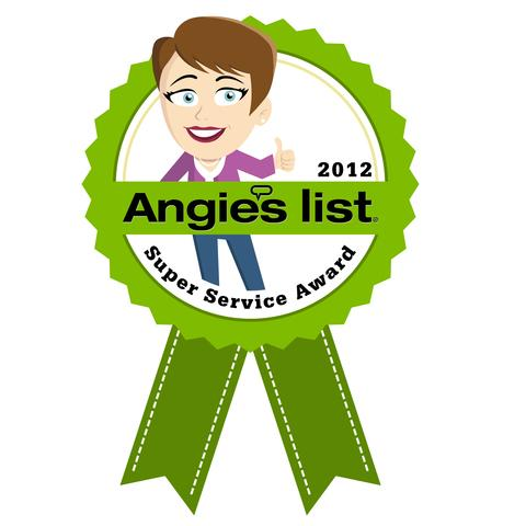 Angie's List Super Service Award reflects Woods Basement Systems' consistently high level of custome...