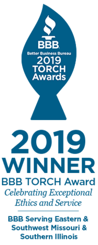 Woods Basement Systems - 2019 BBB TORCH Award