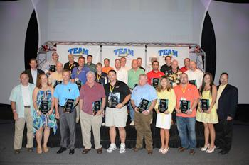 All-Dry of the Carolinas receives awards at 2013 Team Basement Systems Convention
