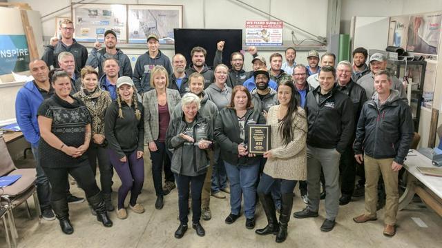 Doug Lacey's Basement System Team Photo