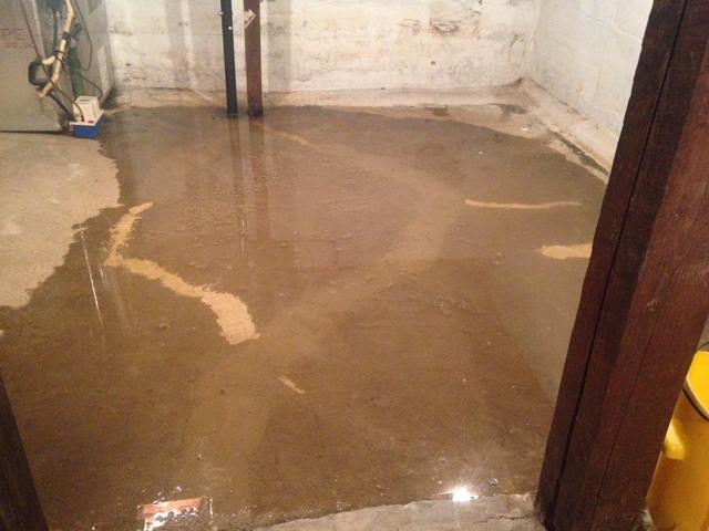 Water in the basement, when it comes into contact with electrical appliances, can be very dangerous