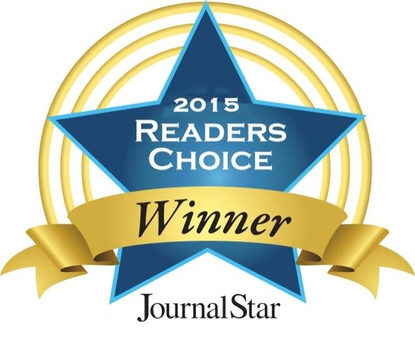Winners of the 2015 Peoria Journal Star's Readers Choice award!