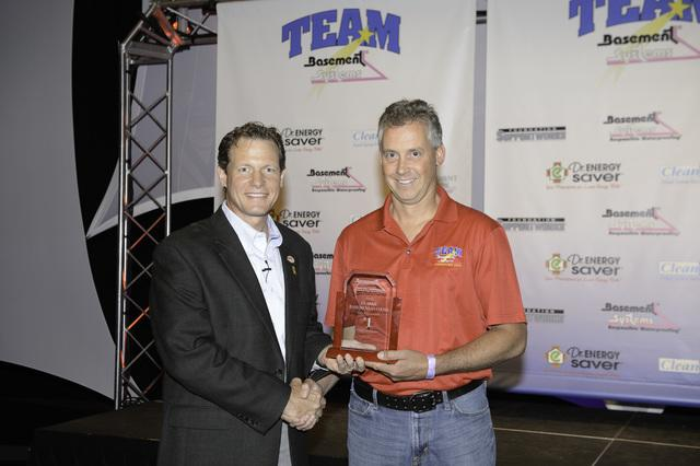 At this year's Team Basement Systems Convention, Clarke Basement Systems earned four awards for thei...