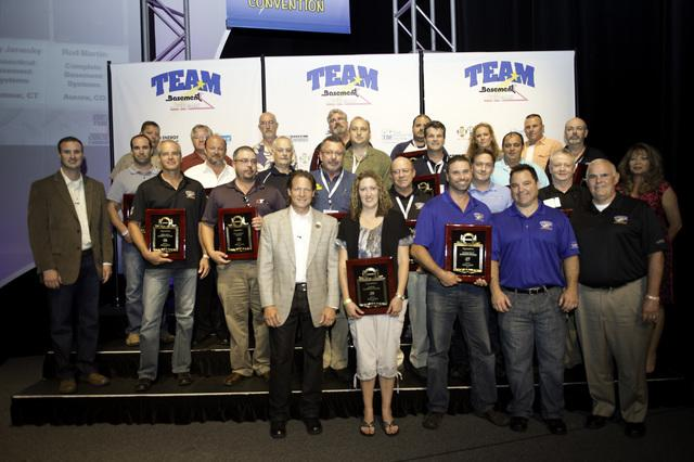 Matvey Construction Wins Award at the 2012 Basement Systems Dealer Convention - Image 1
