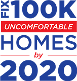 Dr. Energy Saver Fix 100K Uncomfortable Homes by 2020 Logo