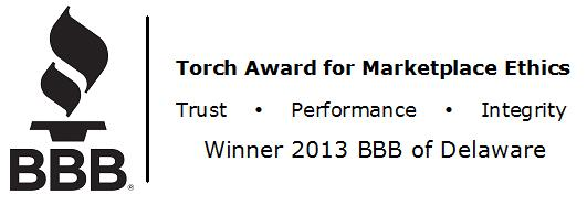 Dr. Energy Saver is the recipient of the Better Business Bureau's Torch Award for Marketplace Ethics...
