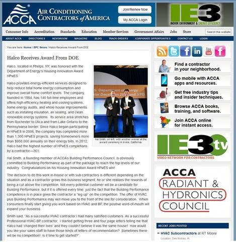 Halco Receives Award From DOE  - Image 1