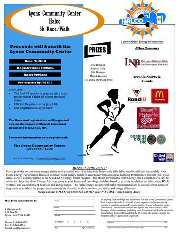 Halco is proud to sponsor the 2013 annual Lyons Peppermint Days 5K race/walk, where all proceeds wil...