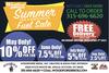 Summer Coal & Wood Pellets Fuel Sale