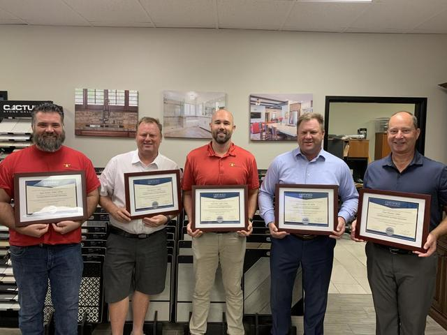 Eight TraVek Team Members Become NARI Certified Kitchen and Bath Remodelers - Image 1