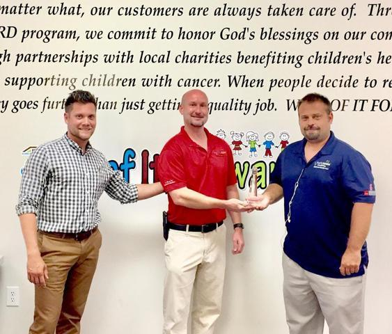 ARAC Roof It Forward was honored to receive the Beacon Lighthouse award for meeting and exceeding in...