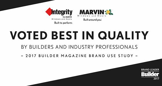 Brands are named highest in quality for fiberglass, wood and wood-clad windows in BUILDER magazine's...