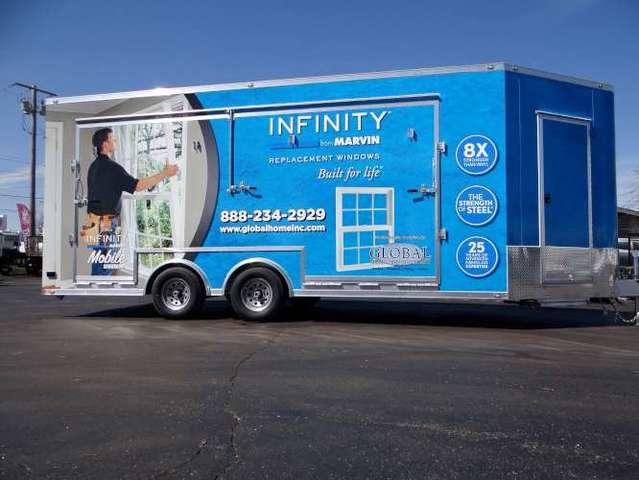 Our Marvin Infinity Mobile Showroom