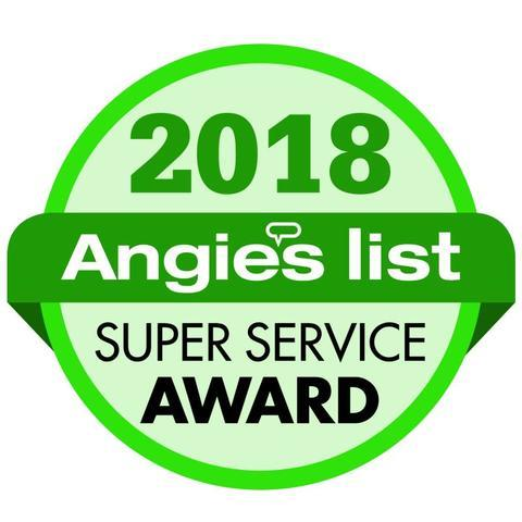 10 Straight Years of winning the Angie's List 'Super Service Award!' This reflects the company's out...
