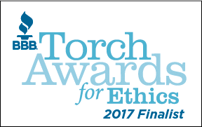 Trinity Exteriors finalist for ethics award