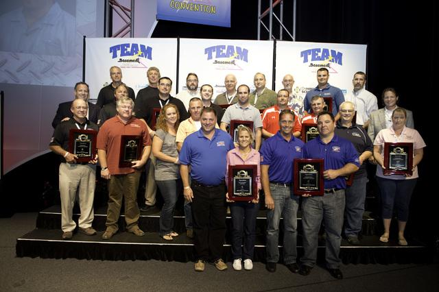 2012 Basement Systems Dealer Convention Yields Awards!  - Image 1