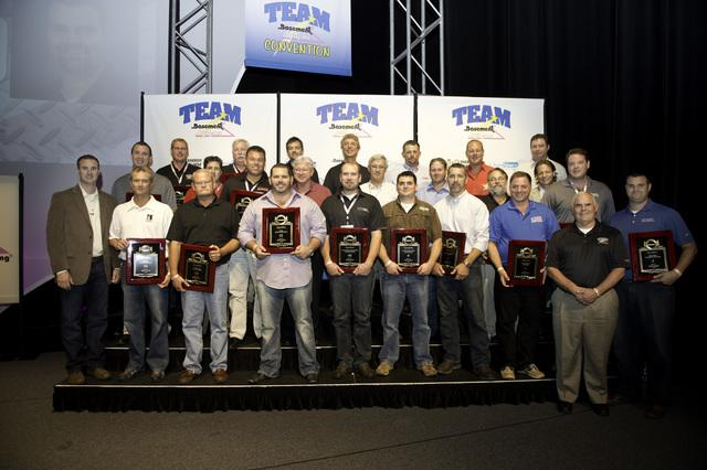 2012 Basement Systems Dealer Convention Yields Awards - Image 1