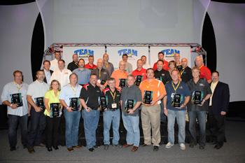 BQ Basement Systems recognized as a top Basement Systems dealer at 2013 Convention