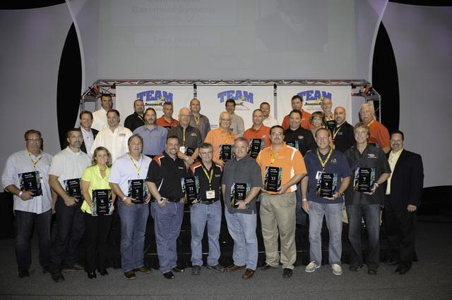Ayers Basement Systems earned two awards at this year's Team Basement Systems Convention held at the...