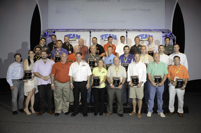 Connecticut Basement Systems won six awards at this year's Team Basement Systems Convention.