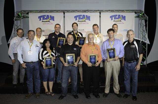 Dr. Energy Saver St. Louis takes home an impressive award at this year's Team Basement System Dealer Convention.