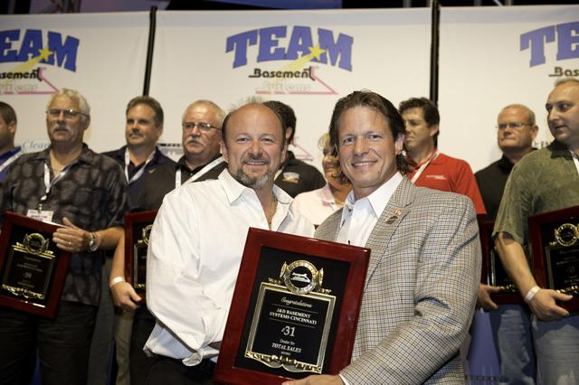 The Basement Doctor Wins Awards at the 2012 Basement Systems Dealer Convention - Image 1