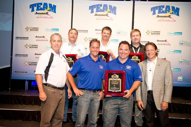 Connecticut Basement Systems has recently been awarded at the Team Basement Systems International Co...