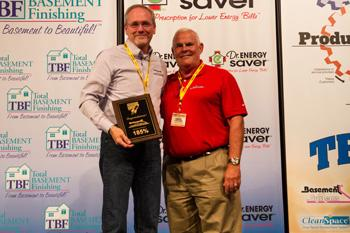 Bix Basement Systems took home two awards at this year's Team Basement Systems Dealer Convention hel...
