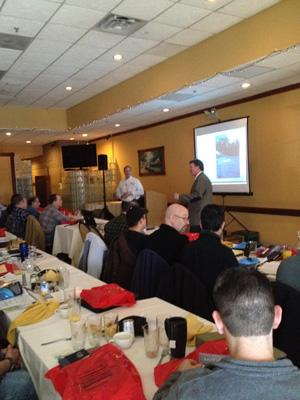 Healthy Basement Systems' Bill Simone spoke about crawl spaces at the Fifth Annual Joint Seminar by ...