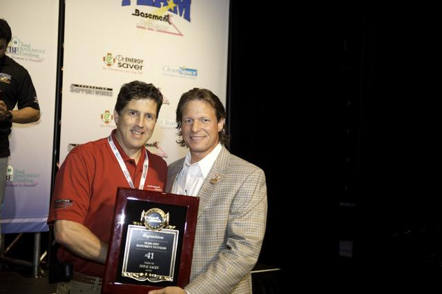 Sure-Dry Basement Systems Wins Awards at the 2012 Basement Systems Dealer Convention - Image 1