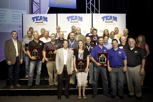 The Basement Doctor has recently been awarded at the Team Basement Systems International Convention.
