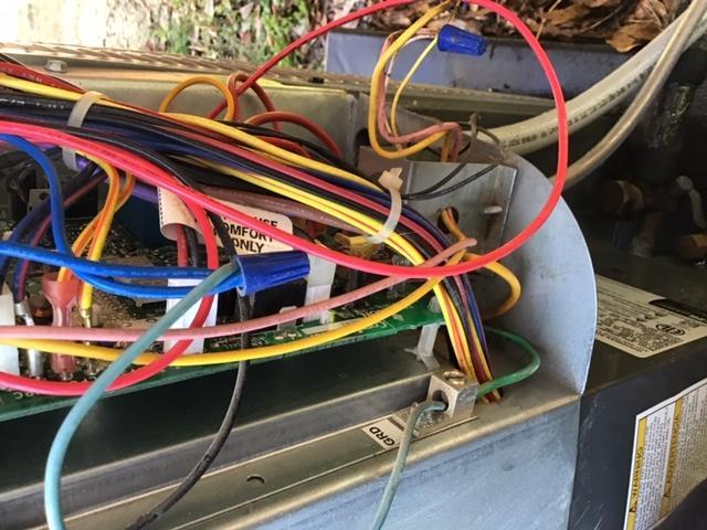Wire organization during tuneup